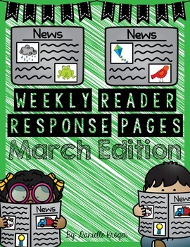Extra! Extra!  Scholastic News Reading Response: March 201