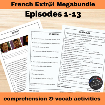 Extra! French megabundle - includes activities for all 13