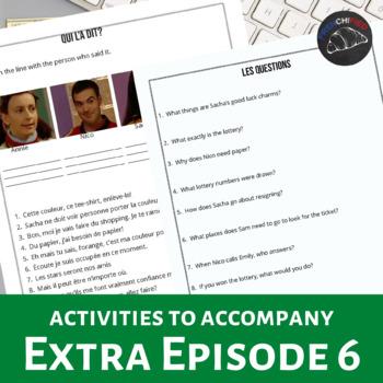 Extra! French - worksheets to accompany episode 6 - Le jou