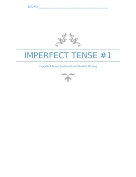 Extra Practice:  Imperfect Tense #1 (Basic)