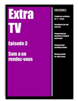 Extra TV in French - Episode 3