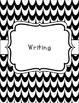 Black and White Classroom Theme Printable Decor Kit