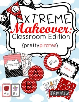 Pirate Classroom Theme Printable Decor Kit