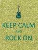 Rock and Roll Classroom Theme Printable Decor Kit