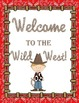 Western Classroom Theme Printable Decor Kit Wild West