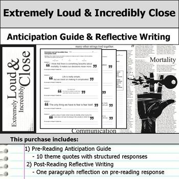 Extremely Loud and Incredibly Close - Anticipation Guide &