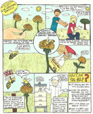 Help the Honeybee Comic