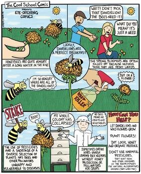 Help the Honeybee Comic