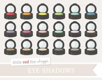 Eye Shadow Clipart; Makeup