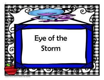 Eye of the Storm - 4th Grade - Tri Folds + Activities