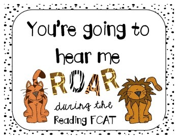 Eye of the Tiger- Reading FCAT Motivation (Per Request)