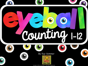 Counting 1-12 {eyeball themed}