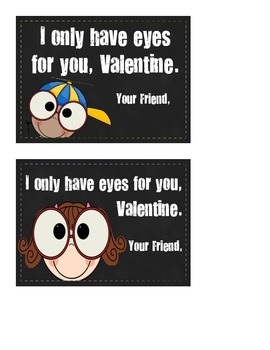 Eyes for You Valentine's Day Card