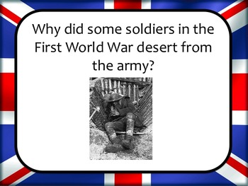 Eyewitness History: Why did some soldiers desert during Wo