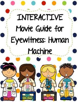 Eyewitness Video Series - HUMAN MACHINE Video Worksheet (M