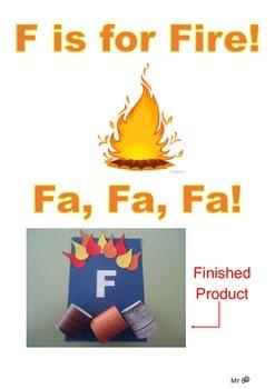F is for Fire, Fa Fa Fa