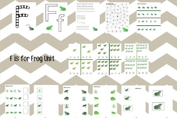 F is for Frog Unit
