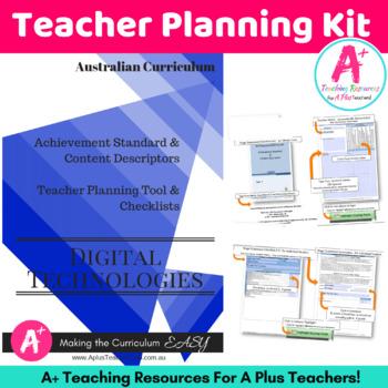 F to Y2 DIGITAL Technologies Australian Curriculum Checklists