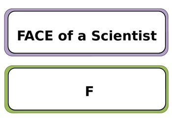 FACE of a Scientist