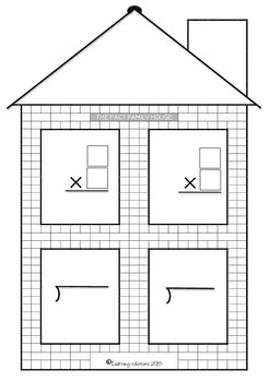 FACT FAMILY HOUSE Multiplication and Division FREEBIE