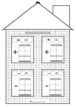 FACT FAMILY HOUSE - Vertical and Horizontal format - Addit