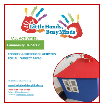 FALL Activities: Community Helpers 2 Weekly Thematic Unit
