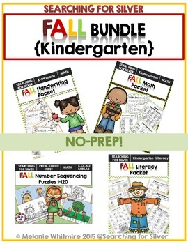 FALL Bundle {Kindergarten}