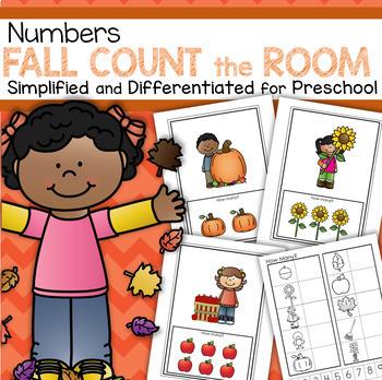 FALL Count the Room Preschool