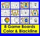 Sight Words Gameboards Set 2 (last 114 Dolch + 10 Nouns)