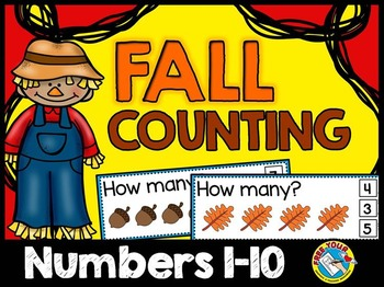 FALL MATH ACTIVITIES: FALL COUNTING CENTER: AUTUMN COUNTIN