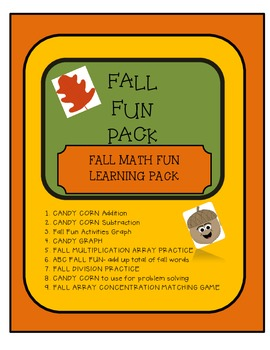 FALL MATH FUN PACK