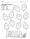 FALL Math Worksheet / 4 Digit Addition and Subtraction wit