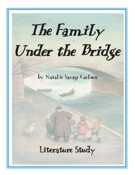 The Family Under the Bridge ...TRIAL: Ch 1-3 Printables, T
