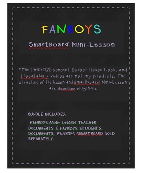 FANBOYS Teacher & Student Documents
