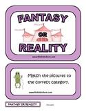 FANTASY OR REALITY FOLDER GAME