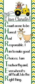 FARM - Classroom Decor: LARGE BANNER, CHARACTER