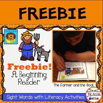 FARM FREEBIE! Beginning Reader for Guided Reading