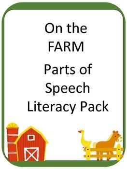 FARM Part of Speech ELA Literacy Center GAMES