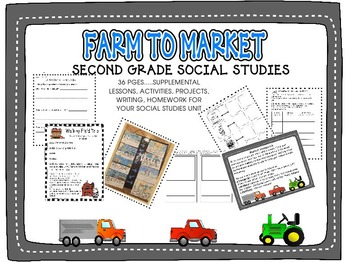 SECOND GRADE: FARM TO MARKET TO TABLE