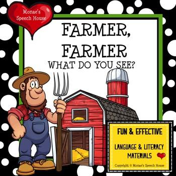 FARMER FARMER WHAT DO YOU SEE? Plus EXTRA LARGE Bonus BARN