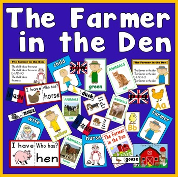 FARMER IN THE DEN TEACHING RESOURCES FARM ANIMALS ROLE PLA