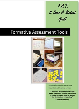 F.A.T. It Does A Student Good! Formative Assessment Tools