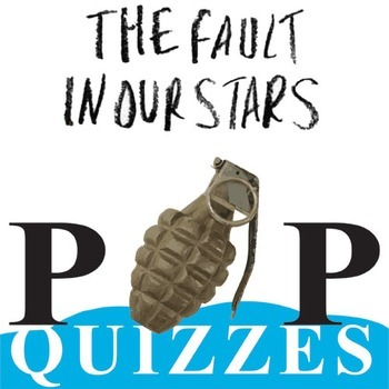 THE FAULT IN OUR STARS 14 Pop Quizzes Bundle