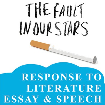 THE FAULT IN OUR STARS Essay Prompts & Grading Rubrics