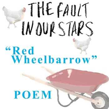 THE FAULT IN OUR STARS Poem Study - Red Wheelbarrow - Poem XXII