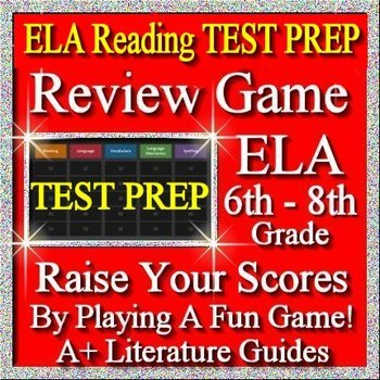 Test Prep Reading Review Game I ELA