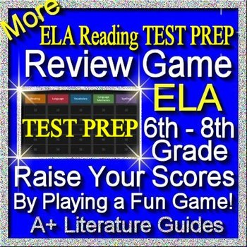 Test Prep Reading Review Game II ELA