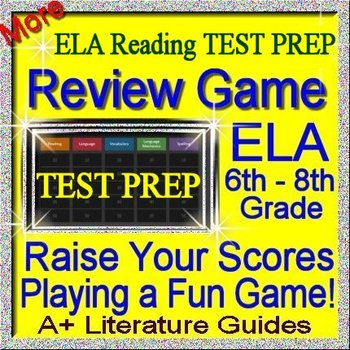 Test Prep Reading Review Game V ELA