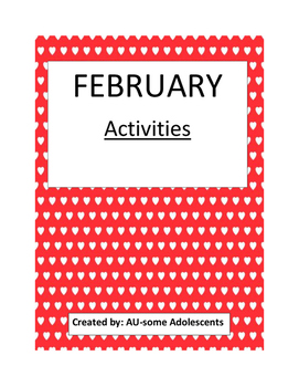FEBRUARY- Re-usable Activities