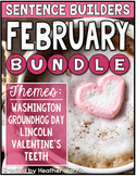 FEBRUARY Sentence Builders BUNDLE
